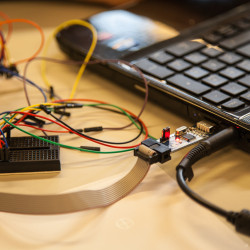 programming microcontroller by software