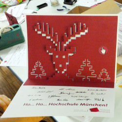Assembled Christmas Card